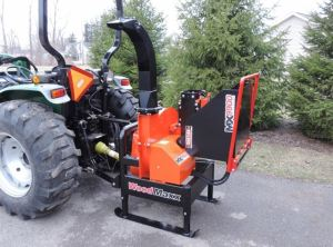 WoodMaxx MX-9900 Wood Chipper 3