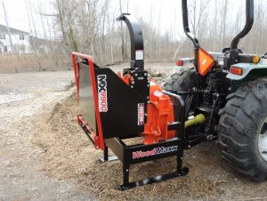 WoodMaxx MX-9900 Wood Chipper 5