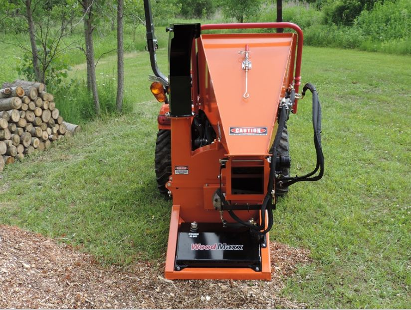 The WoodMaxx PTO Wood Chipper Line Up | The difficult we do
