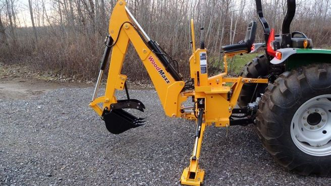 WoodMaxx WM-8600 8' Backhoe Tractor Attachment 2