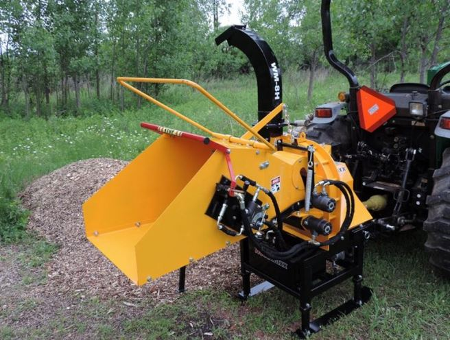 WoodMaxx WM-8H Wood Chipper 2
