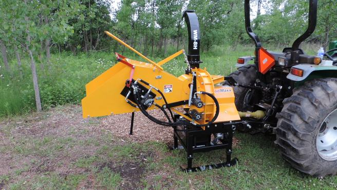 WoodMaxx WM-8H Wood Chipper
