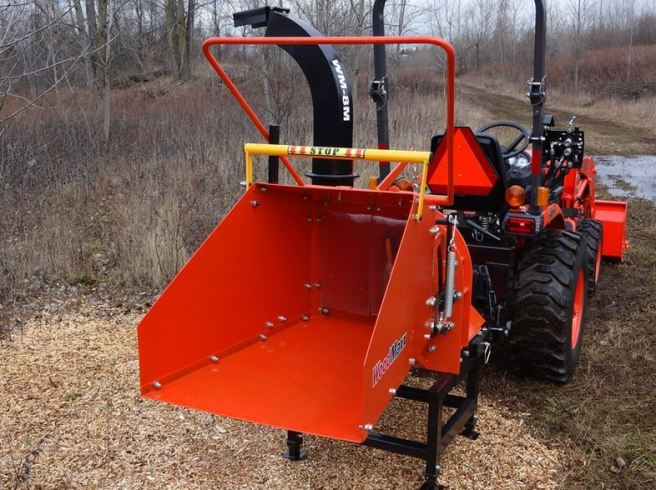 THE WOODMAXX™ WM-8M MECHANICAL AUTO FEED CHIPPER